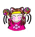 関西弁!ほのぼの猫ちゃん女の子(個別スタンプ:35)