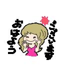 かわいい女の子スタンプ・2(個別スタンプ:02)