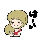 かわいい女の子スタンプ・2(個別スタンプ:03)