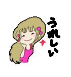 かわいい女の子スタンプ・2(個別スタンプ:04)