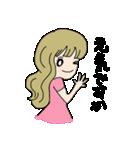 かわいい女の子スタンプ・2(個別スタンプ:09)