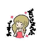 かわいい女の子スタンプ・2(個別スタンプ:13)