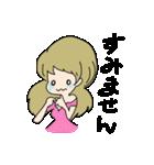 かわいい女の子スタンプ・2(個別スタンプ:21)