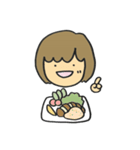たいがい食べ物といっしょ(個別スタンプ:36)