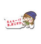 【吹き出し】ゆるカジ女子(個別スタンプ:20)
