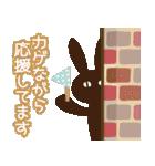 【春夏敬語】北欧ナチュラルうさぎ(個別スタンプ:16)