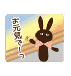 【春夏敬語】北欧ナチュラルうさぎ(個別スタンプ:26)