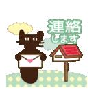 【春夏敬語】北欧ナチュラルうさぎ(個別スタンプ:27)