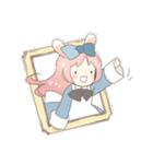 ねこみみっこネココ&うさみみっこロージィ(個別スタンプ:05)