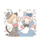 ねこみみっこネココ&うさみみっこロージィ(個別スタンプ:07)