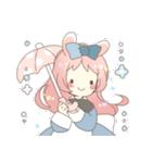 ねこみみっこネココ&うさみみっこロージィ(個別スタンプ:32)
