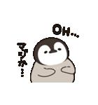 ほのぼの子ペンギン連絡用(個別スタンプ:27)