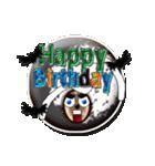 お誕生日おめでとう、こうもり、お祝い、祝日(個別スタンプ:38)