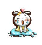 女子力UP!白うさぎさん日常パック 2(個別スタンプ:15)