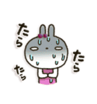 女子力UP!白うさぎさん日常パック 2(個別スタンプ:25)