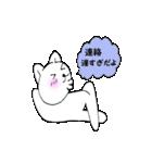 お返事猫1(個別スタンプ:31)