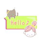 ニコル & ネコル(個別スタンプ:02)