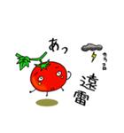 ミニトマトと一緒に天気。一緒に会話。(個別スタンプ:06)