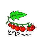 ミニトマトと一緒に天気。一緒に会話。(個別スタンプ:08)
