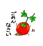 ミニトマトと一緒に天気。一緒に会話。(個別スタンプ:11)