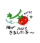 ミニトマトと一緒に天気。一緒に会話。(個別スタンプ:19)