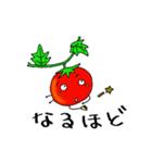 ミニトマトと一緒に天気。一緒に会話。(個別スタンプ:25)