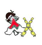 前髪パッツンの不思議ちゃん登場(個別スタンプ:08)