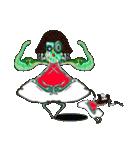 前髪パッツンの不思議ちゃん登場(個別スタンプ:39)