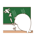 毒舌あざらし~学校編~(個別スタンプ:34)