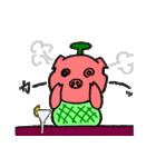 カッ豚パイン その1(個別スタンプ:14)