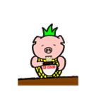 カッ豚パイン その1(個別スタンプ:24)