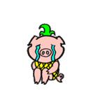 カッ豚パイン その1(個別スタンプ:34)