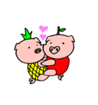 カッ豚パイン その1(個別スタンプ:38)