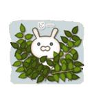 アンティークな月から来たウサギ(個別スタンプ:8)