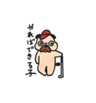 ゴルファーぱぐ(個別スタンプ:03)