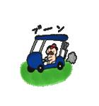 ゴルファーぱぐ(個別スタンプ:11)