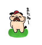 ゴルファーぱぐ(個別スタンプ:12)