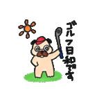 ゴルファーぱぐ(個別スタンプ:23)