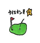 ゴルファーぱぐ(個別スタンプ:28)
