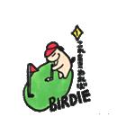 ゴルファーぱぐ(個別スタンプ:37)
