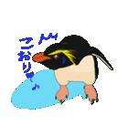 クールでニヒルなあいつはイワトビペンギン(個別スタンプ:8)