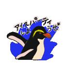クールでニヒルなあいつはイワトビペンギン(個別スタンプ:40)