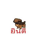 Cute Dog Balloon(個別スタンプ:10)