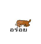 Cute Dog Balloon(個別スタンプ:17)