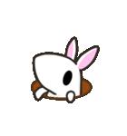 白ウサさん 日常スタンプ(個別スタンプ:02)