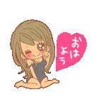 おんなのこたち【ラブラブカップル専用2】(個別スタンプ:01)