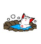 お稲荷くん3(言葉無し)(個別スタンプ:19)