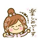 お絵かきガールズスタンプ5~3色敬語ver.~(個別スタンプ:07)