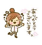お絵かきガールズスタンプ5~3色敬語ver.~(個別スタンプ:08)