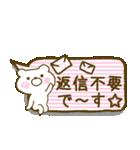 お絵かきガールズスタンプ5~3色敬語ver.~(個別スタンプ:15)